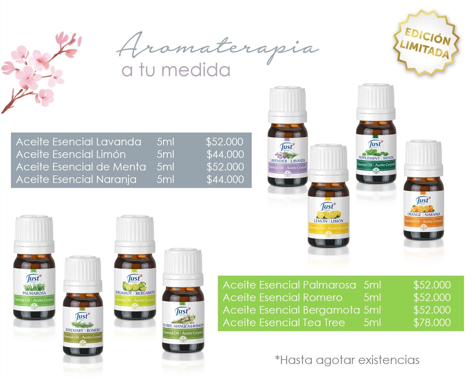 Aromaterapia Just